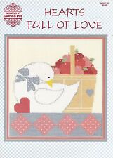 Cross Stitch Book : HEARTS FULL OF LOVE - by Designs by Gloria & Pat - OOPS!
