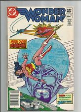 WONDER WOMAN #295  VF+ VERY FINE+ OWWHITE PAGES BRONZE AGE DC COMIC 1982 (A-1)
