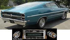 USA-630 II* 300 watt '68-69 Ford Torino AM FM Stereo Radio iPod USB Aux inputs