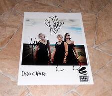 Dixie Chicks *Country*, original signed Photo in 20x25 cm (8x10), RAR