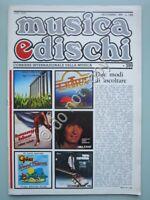 Musica e Dischi n. 399 1979 Rivista Passengers Pooh Queen Cutugno Branduardi