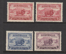 1934 Macarthur Set of 4 MNH ex 2d Light Hills MVLH