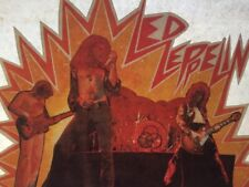 Vintage 1970 Led Zeppelin Iron On Transfer RARE