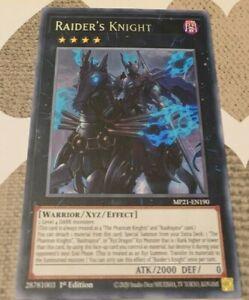 Raider's Knight Rare MP21-EN190 Nr Mint 1st Edition YuGiOh
