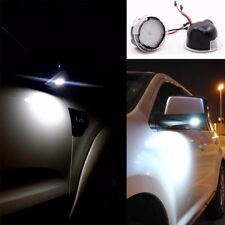 2PCS High Power White LED Side Mirror Puddle Lights For Ford F150 2012-2018 D