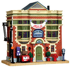Lemax 35503 DELUXE ARMS APARTMENTS Jukebox Junction Building Christmas Decor I