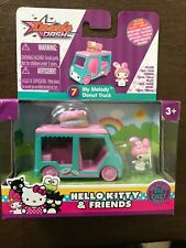 Hello Kitty MY MELODY DONUT TRUCK Die-Cast Vehicle W/Micro Figure Collect Series