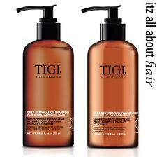 Tigi Hair Reborn Awakening Deep Restoration Shampoo Conditioner Duo