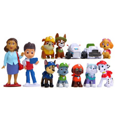 12PCs Figures Paw Patrol Everest Rescue Dog Action Figure Kids Toys as Gift PVC