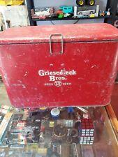 Scarce Vintage Breweriana Stag 1960s Vintage Griesedieck Brothers Beer Co Cooler