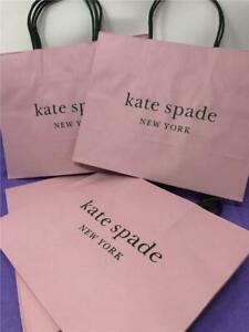 kate spade LOT OF  7  GIFT BAGS    PINK   NEW DESIGN  10 X 8 APPROX