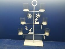 Tree Look Hanging or Stand Candle Lantern Lamp Centerpiece Holiday Christmas NEW