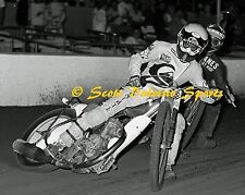1986 JOHN COOK COSTA MESA SPEEDWAY MOTORCYCLE RACING 8 X 10  PHOTO