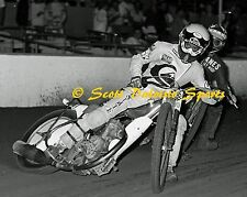1986 JOHN COOK COSTA MESA SPEEDWAY MOTORCYCLE RACING 16 X 20  PHOTO