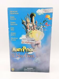 """Terry Gilliam as THE BRIDGEKEEPER 12"""" MONTY PYTHON And The HOLY GRAIL Sideshow"""