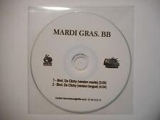 MARDI GRAS. BB : BLVD. DE CLICHY ( VERSION COURTE ) ♦ CD SINGLE PORT GRATUIT ♦
