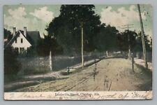 Louisville Street CLAYTON Alabama— Barbour County AL Rare Antique Dirt Road 1910
