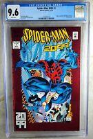 Spider-man 2099 #1 Marvel 1992 Origin Red Foil Cover CGC 9.6 NM+ Comic R0028