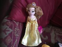 "Disney Store Exclusive Princess BEAUTY & Beast Belle SOFT Toy Approx 12"".. TAGs"