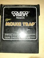 Mouse Trap (Colecovision, 1982) ~BUY 2 GET 1 FREE~ *FREE SHIPPING*