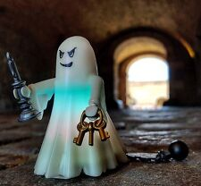 playmobil skeletons figures new pirate Ghost swords custom 6042 halloween led