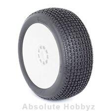 AKA Racing Catapult 1/8 Buggy Tires (S Soft) (Mounted) (White) (2) - AKA14016VRW