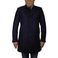 HARMONT&BLAINE Cappotto Giaccone Uomo Col Blu tg XL | -50 % OCCASIONE |