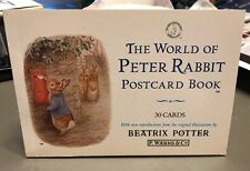 BEATRIX  POTTER - The World of Peter Rabbit Postcard Book: 30 Cards- NEW