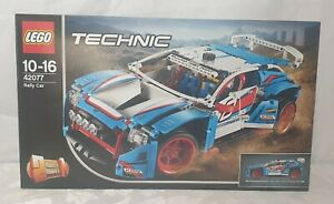 Brand New & Sealed LEGO 42077 Technic Rally Car - 2 Models in 1 -