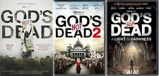 DVD 3 Pack! God's Not Dead 1, 2 & 3 A Light in the Darkness NEW - FAST SHIPPING!