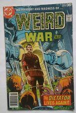 Weird War Tales #58 Hitler story