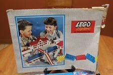 Vintage Lego System by Samsonite #711 Large Basic Flat Set 1961 in Original Box