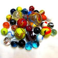 """MO-Marbles 5/8"""", 1"""" and 1 3/8"""" Classic Marble Assortment + Pouch ( M) 99484216"""