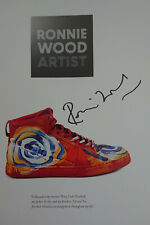 RARE Ronnie Wood Artist HAND SIGNED 1/1st Edition HB Book Rolling Stones