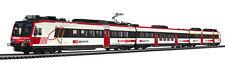 Liliput L 133951 H0 Triebwagen 3tlg Domino Glarner Sprinter digital für 3 Leiter