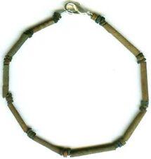 BC600 Antiguo Egipto Turquesa Color Loza Cerámico Proto-Glass Pulsera Joyería