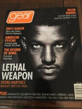 Gear magazine May 2000 Pedro Martinez Bono Patricia Velasquez