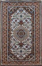 Orientteppich Bidjar  70X140 CM Handgeknüpft ~ 100% Wolle  ~ Braun ~ Cream