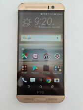 HTC One M9 PLUS 32GB Gold Sim Unlocked - See Description - Faulty Side Buttons