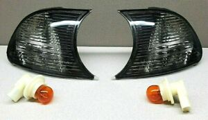 DEPO - Fits 1998-2001 BMW 3-Series E46 2-Door - Turn Signal Lamps - Pair - Clear