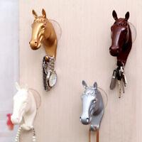 Wall Hanger Coat Hanger Resin Horse Hook Modern Home Furnishing Wall Decor 1PC