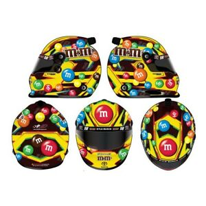 Kyle Busch 2019 Classic M&M's Yellow Full Size Helmet
