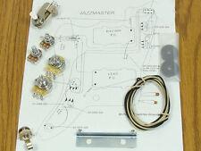 Jazzmaster Pot Switch Slider Bracket Cap Wiring Kit for Fender Guitar Diagram