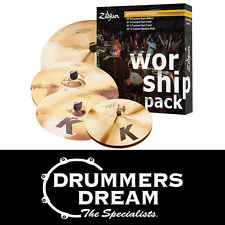 "Zildjian K Custom Worship Value Cymbal Set Includes Free 18"" K Custom Fast Crash"