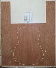 Tonewood Bubinga 1018 tonholz Guitar Builder luthier Acoustic backs sides set