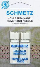 Schmetz Hohlsaum Nadel für Nähmaschine 130/705 ST. 100
