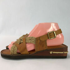 Footnotes Kick Womens Sandals Shoes Brown Size 7.5 M
