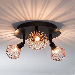 3-heads Ceiling Light Fitting Spot Lights Light Bulb Include Home Lighting