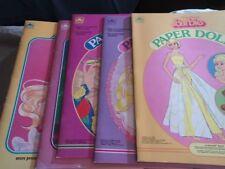 Paper Barbie dolls lot of 5