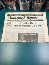 AUTOGRAPH REPORT DALE EARNHARDT FEB/MARCH 2001 VOLUME 1 ONLY ONE ON EBAY